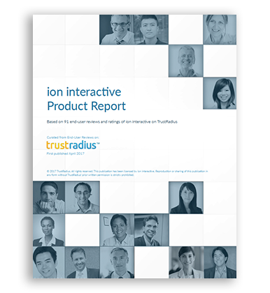 TrustRadius - ion interactive Product Report