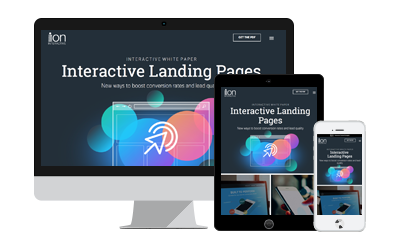 Landing Pages Interactive White Paper