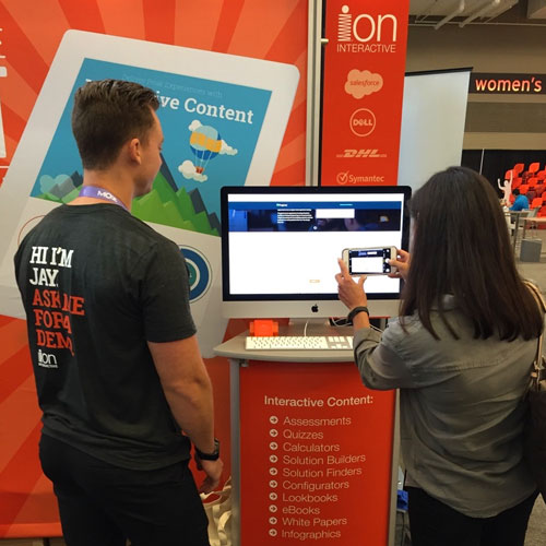 ion interactive booth - CMW 2016