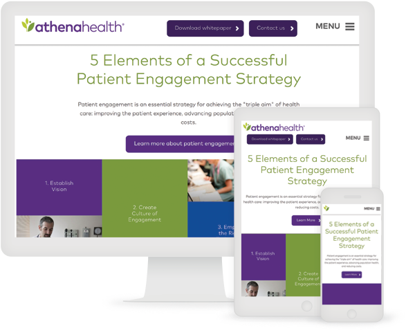 AthenaHealth Infographic