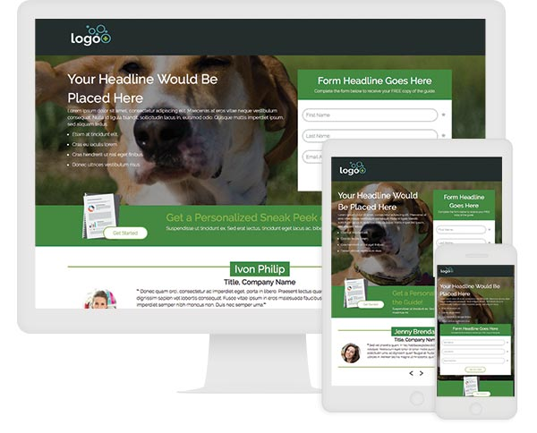 ion interactive Quick Start Landing Page w/ Personalized Sneak Peek
