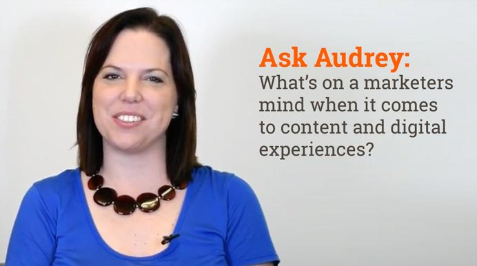 What's on a Marketers Mind When it Comes to Content and Digital Experiences?