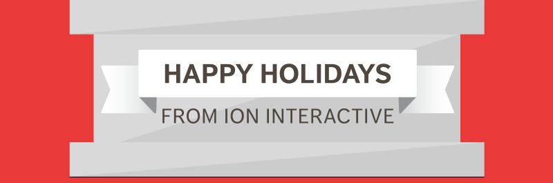 Happy Holidays from ion interactive!