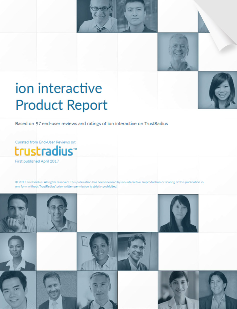 TrustRadius Product Report