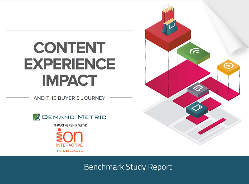 DemandMetric Report:  Content Experience Impact and the Buyer's Journey