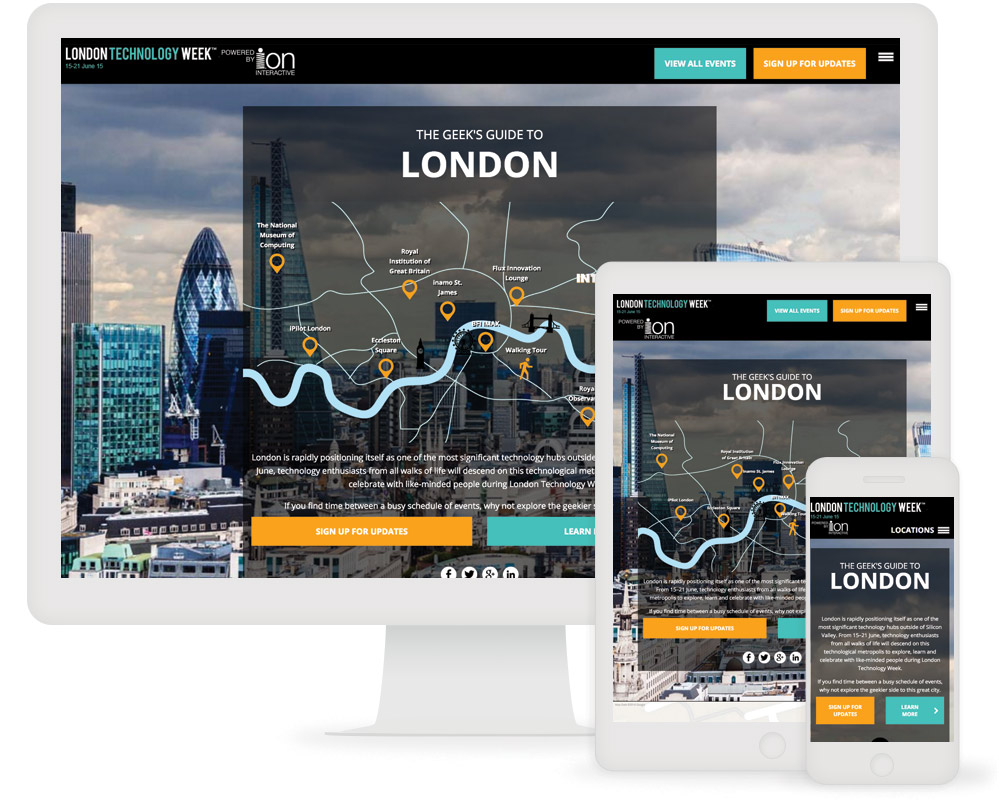 UBM and ion interactive Case Study