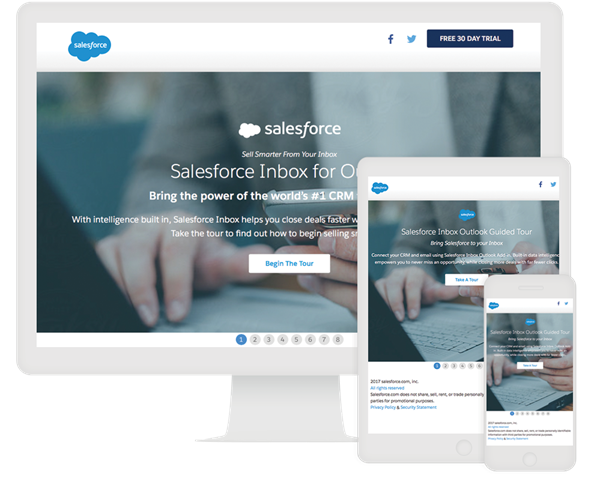 Salesforce Lookbook Example