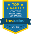 Top Rated Content Marketing Software by TrustRadius