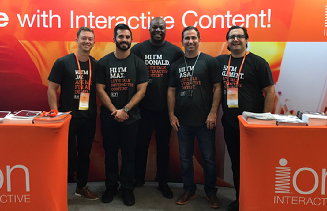 ion interactive at Content Marketing World 2017