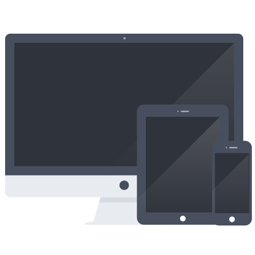 Mobile, Tablet and Desktop Devices